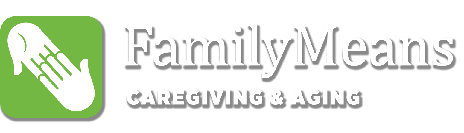 Caregiving and Aging Logo