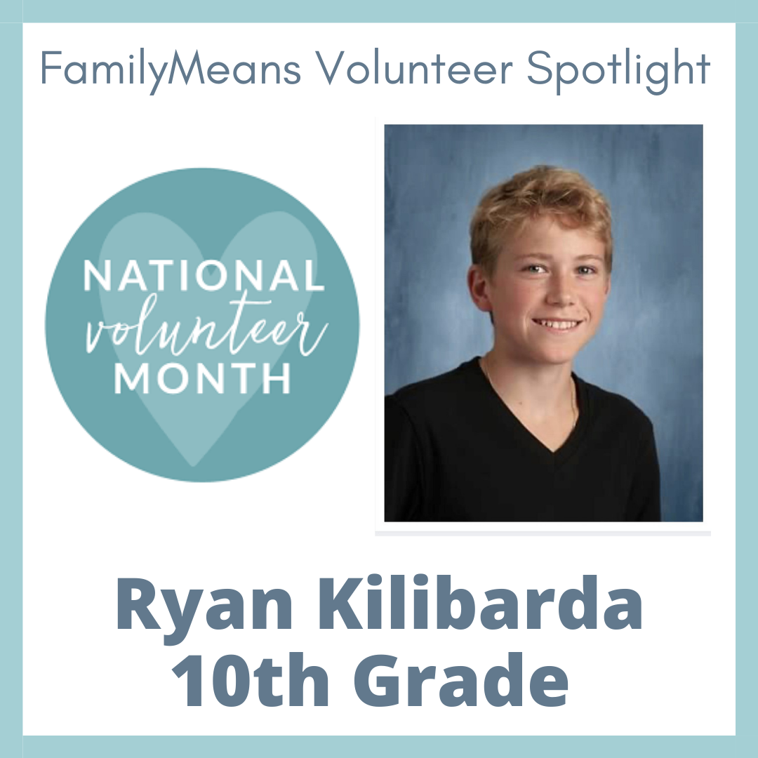 Volunteer Spotlight - Ryan Kilibarda