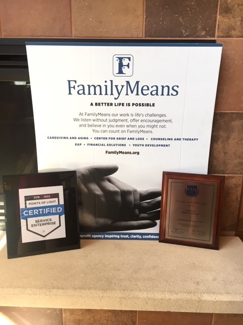 FamilyMeans Earns Two Endorsements for Excellence